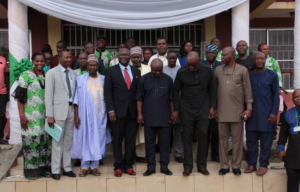 Group Photograph of participants at the just concluded 15th annual Organic Agriculture Conference
