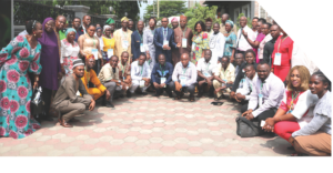 Group Picture at the 4th annual National Organic Agriculture Business Summit Holds in Lagos
